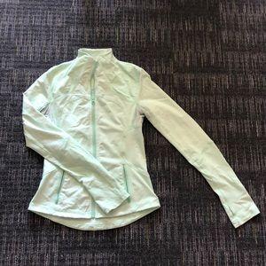 Lululemon Light Green Athletic Jacket